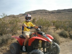 Off-road ATV desert Tour Las Vegas