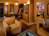 Luxor Hotel tower bedroom suite