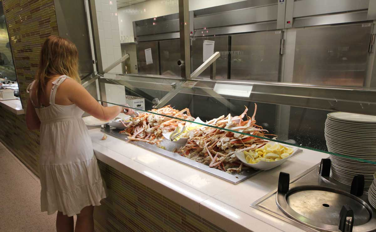 Las Vegas Buffets. Looking for the best buffet in Vegas? From Aria to Wynn, breakfast to seafood, you've found the most detailed all-you-can-eat buffet listings on the web!