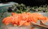 Todai sushi buffet Las Vegas salmon