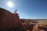 Valley of fire zomer